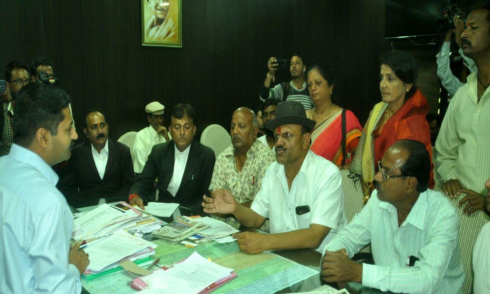 भाजपा-कांग्रेस कार्यकर्ता भिड़े,विधायक ने की डीआइजी से शिकायत