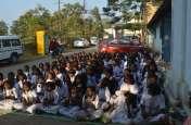 स्कूलों में मनाया चाचा नेहरू का जन्मदिन