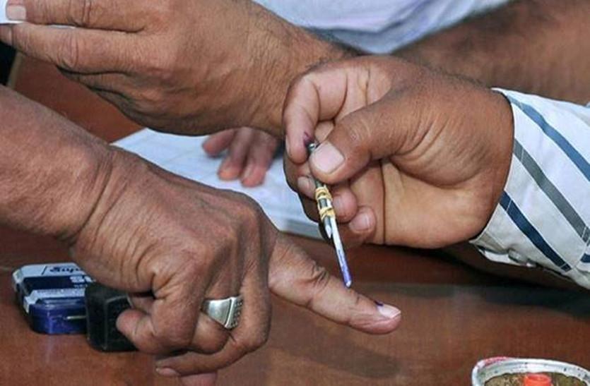 विधानसभा चुनाव : 2013 के अपेक्षा इस बार चुनाव में 4 प्रतिशत कम हुआ मतदान