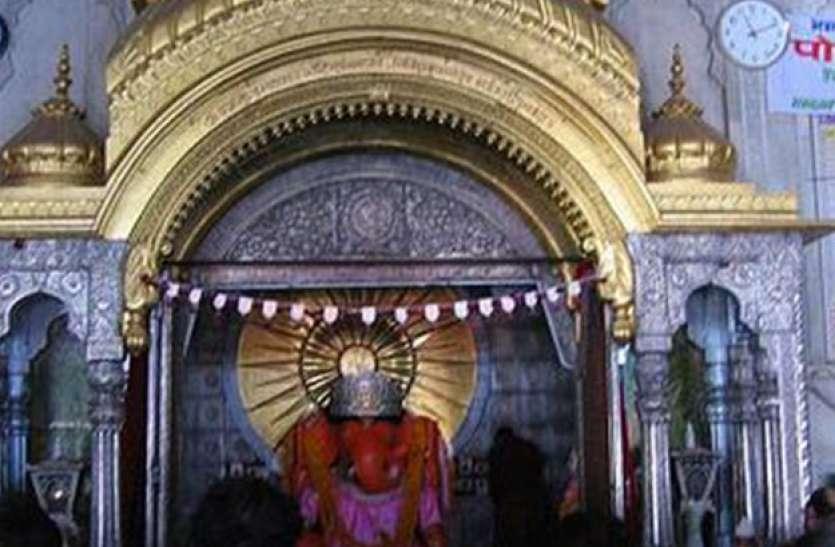 इस मंदिर की तांत्रिक विधि से हुई थी स्थापना, अनोखी है यहां गणेश जी की मूर्ति
