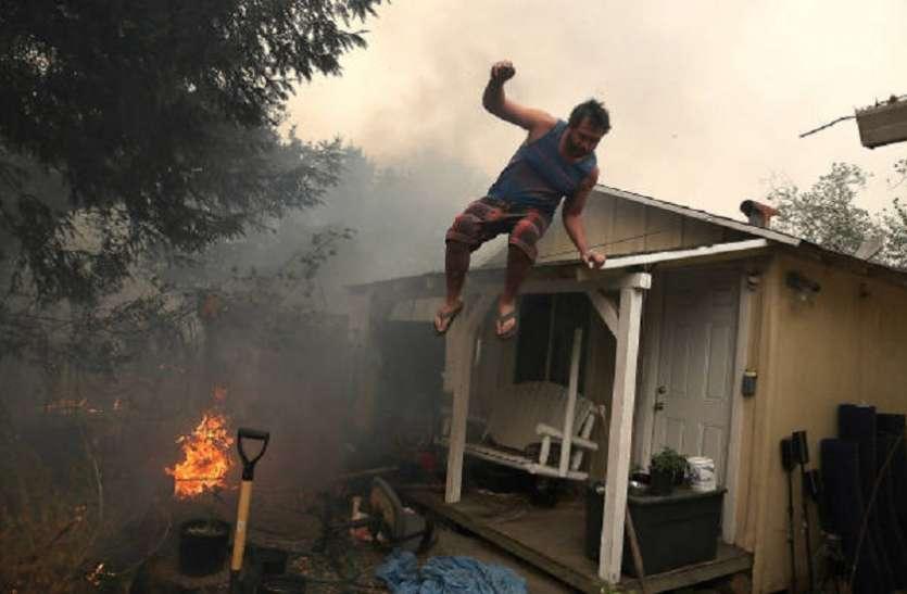 कैलिफोर्निया में आग से भारी नुकसान, प्रभावित क्षेत्रों में फिल्म की शूटिंग पर रोक