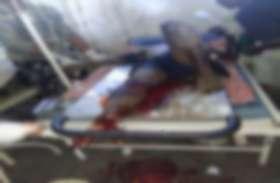 जवानों को नुकसान पहुंचाने नक्सलियों ने फिर खेत की मेड़ में लगाया था IED, ग्रामीण आया चपेट में, घायल