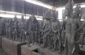 राम मंदिर बनने पर इस कलाकार की बनाई प्रतिमाएं होंगी आस्था का केंद्र वर्षों से बना रहा है प्रतिमाएं