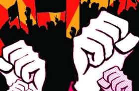 जद-एस नेता की हत्या के विरोध में प्रदर्शन