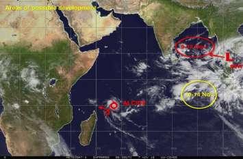 वीडियोः चक्रवाती तूफान से श्रीलंका में होगी भारी बारिश