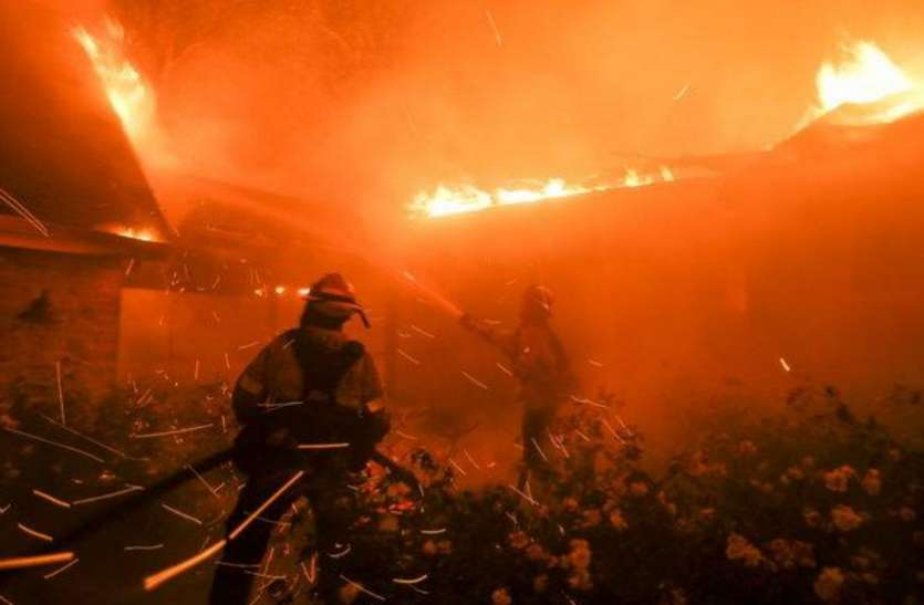 कैलिफॉर्निया के जंगल में लगी आग पर काबू पाना हुआ मुश्किल, अब तक 59 की मौत, 130 से ज्यादा लोग लापता