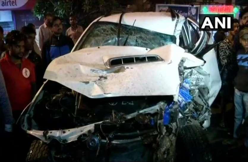 दिल्ली: अनियंत्रित एसयूवी कार ने 9 लोगों को कुचला, एक लड़की की मौत
