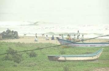 Video: तमिलनाडु तट पर पहुंचने वाला है चक्रवाती तूफान 'गाजा', बारिश शुरु