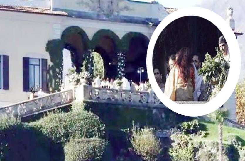 तस्वीरों के बाद सामने आई 'दीपवीर' की शादी वीडियो, साफ दिख रहा वेडिंग के दौरान का नजारा