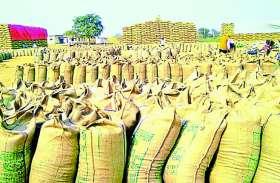 राहुल गांधी की कर्जमाफी की घोषणा से बढ़ी उम्मीदें, धान खरीदी केन्द्रों में कम पहुंचे किसान