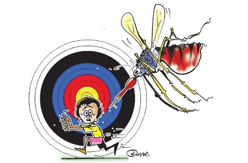 मच्छरों को लगा 'युवा' खून का चस्का
