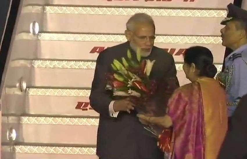 received by EAM Sushma Swaraj
