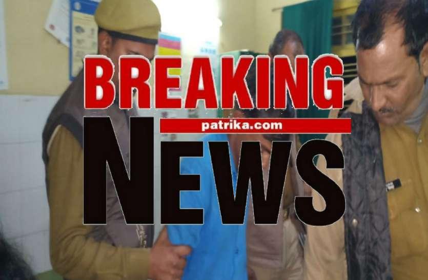 BREAKING: गाजीपुर में पुलिस मुठभेड़, एक बदमाश को लगी गोली