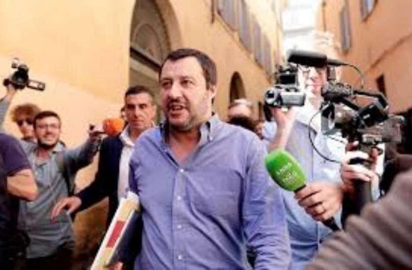 शरण लेने के लिए केवल विमान के रास्ते से देश में प्रवेश करना होगा: मटेयो साल्विनी