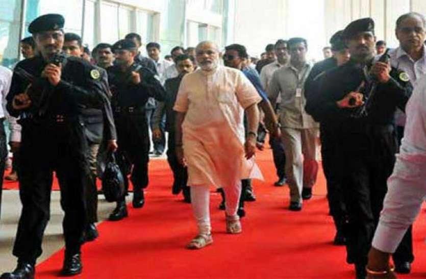 narendra modi security of spg