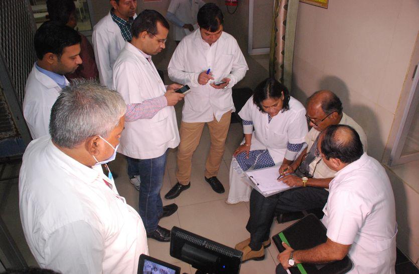 एमआरआई टीम ने किया निरीक्षण : मेमोग्राफी सुविधा नहीं, स्टाफ की कमी