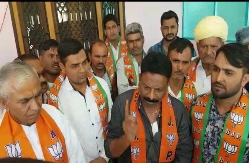 भाजपा में बगावत के तेवर तेज, सुमेरपुर के कार्यकर्ताओं ने जताया आक्रोश