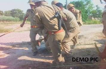 पुलिस ने रोका तो बदमाशों ने कर दी अंधाधुंध फायरिंग, गाजीपुर में यूपी पुलिस की बड़ी मुठभेड़