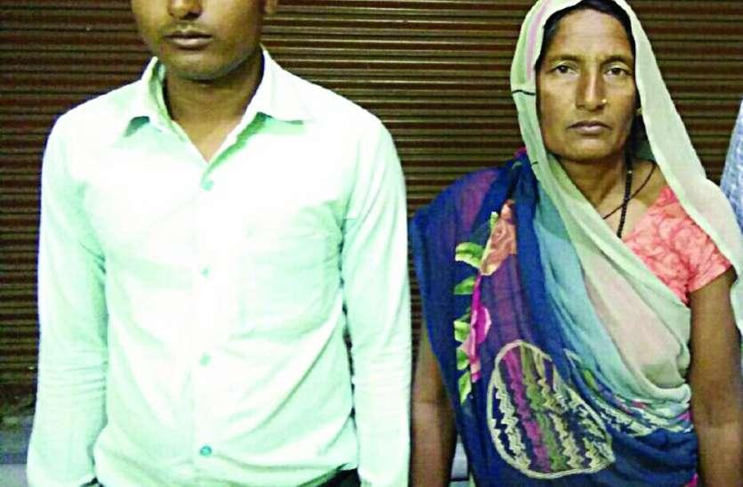 पुलिस की बर्बरता: पुलिस पर घर में घुसकर मां-बेटे को पीटने का आरोप