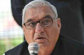भूपेन्द्र हुड्डा ने राजस्थान विधानसभा चुनाव में प्रचार के लिए कसी कमर