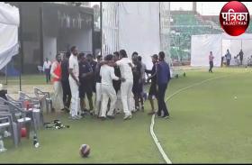 रणजी ट्रॉफी :  टीम राजस्थान की लगातार दूसरी जीत.....सर्विसेज को 5 विकेट से हराया....... देखें टीम राजस्थान की जीत का जश्न...