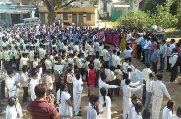 चीचली में निकली विशाल मतदाता जागरुकता रैली