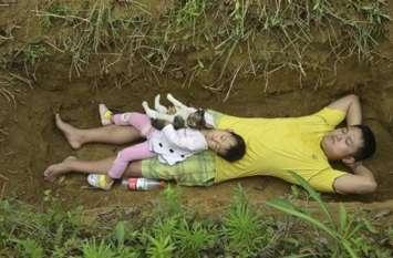 पिता ने खोदी अपनी मासूम बच्ची के लिए कब्र, वजह जान हो जाएंगे भावुक