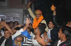 कांग्रेस ने अलवर ग्रामीण से जिलाध्यक्ष टीकाराम जूली पर ही लगाया दांव, टिकट मिलने के बाद मनाया जश्न