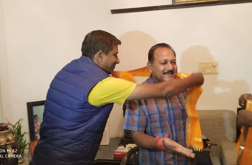 मावली :  झाला की बरसों की मुराद हुई पूरी, कांग्रेस से लड़ेंगे चुनाव ..