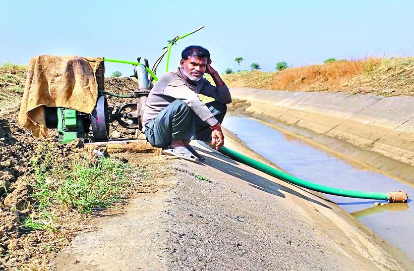 नहरें चालू होने के 9 दिन बाद भी पानी को तरस रहे हैं किसान