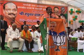मुख्यमंत्री का छग में चुनावी दौरा, चार जनसभाओं को किया संबोधित