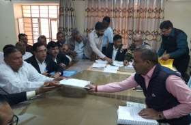 हनुमानगढ़ जिले में आज से नामांकन पत्र दाखिले का कार्य गति पकडऩे की उम्मीद