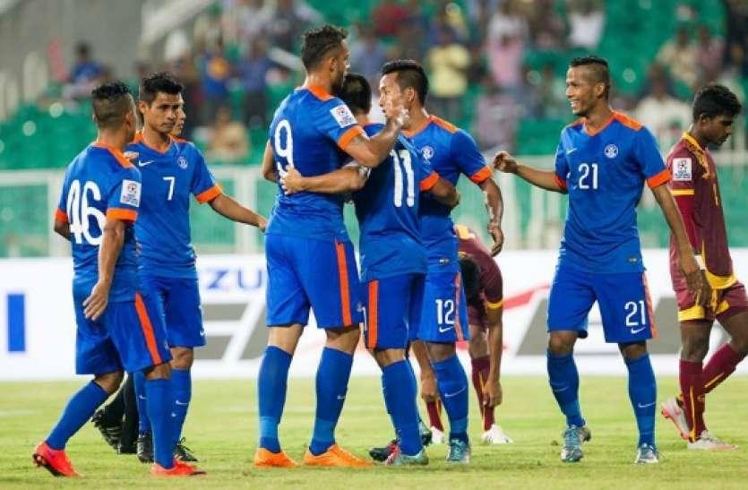 football friendly match : जॉर्डन से भारत का मुकाबला आज, इन बातों का रखना होगा ध्यान