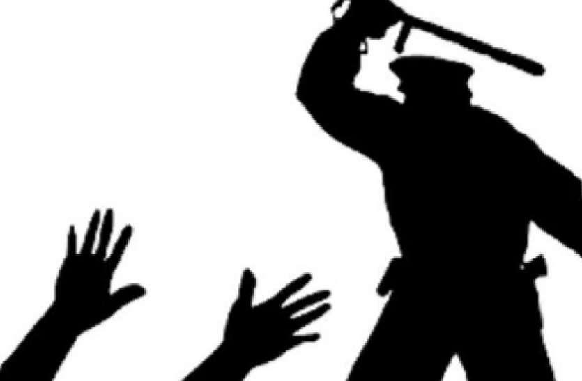 रिपोर्ट दर्ज कराने पहुंचे भाजपा नेता की थाने में पिटाई, मच गया हडक़ंप