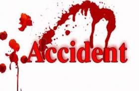 सडक़ दुर्घटना में बाइक सवार की मौत