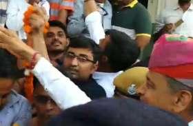 RAJ ELECTION 2018 : अशोक गहलोत जोधपुर पहुंचे, फिर उमड़ी भीड़,,कलनामांकन दाखिल करेंगे