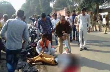 इस कार्यकर्ता की मौत का जिम्मेदार कौन? भाजपा या ट्रैफिक नियमों का उल्लंघन होते देखने वाली पुलिस