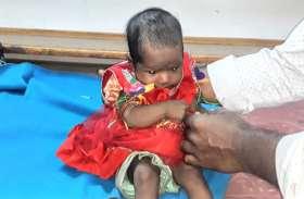 रोती-बिलखती लावारिस हालत में तीन माह की बच्ची मिलने से फैली सनसनी