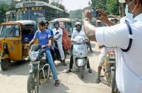 ट्रैफिक नियमों के पालन में की कोताही तो कट जाएगा चालान