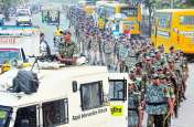 MP ELECTION 2018 : सडक़ पर उतरे पुलिस के 700 जवान,शहरवासी बोले अब क्या हुआ