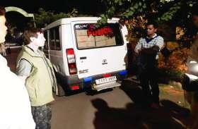 चुनाव उड़नदस्ता टीम ने भाजपा समर्थकों के पास से जब्त किये 32 पेटी शराब