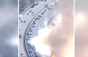 वीडियो: कैलिफोर्निया के जंगलों की आग के बीच जारी है कारों की आवाजाही