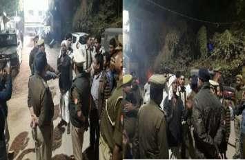 वीरेंद्र यादव की घर के बाहर गोलीमार कर हत्या,इलाके में तनाव कई थानों की फ़ोर्स तैनात