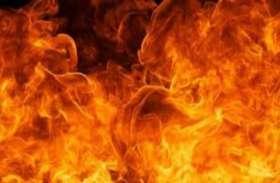 घर में आग लगने के बाद जब फटा गैस सिलेंडर तो दिखा दिल दहला देने वाला नजारा, Video में देखें पूरा नजारा