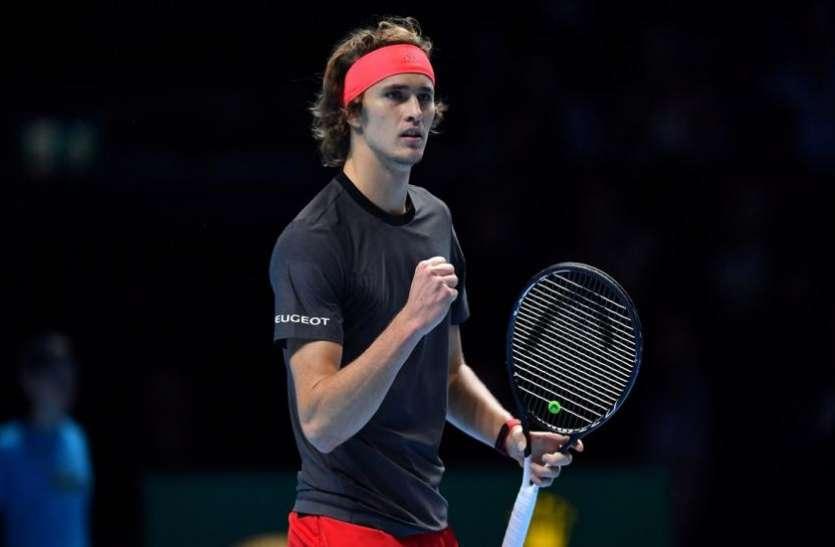 ATP World Tour Finals: एलेक्जेंडर ज्वेरेव ने वर्ल्ड नम्बर-1 नोवाक जोकोविक को धूल चटा जीता खिताब