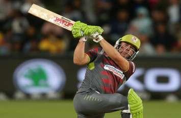 ब्रावो ने झटके 3 विकेट, डिविलयर्स ने खेली ताबड़तोड़ पारी- 40 ओवर में बने 405 रन