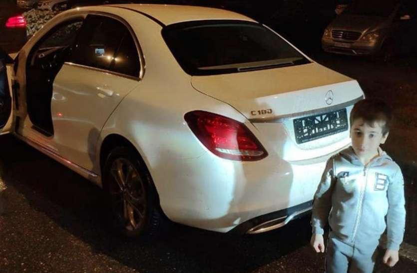 5 साल के बच्चे ने 2 घंटे 25 मिनट में कर दिया ऐसा काम, गिफ्ट में मिली मर्सिडीज कार