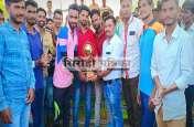 क्रिकेट प्रतियोगिता में ग्यारह गांव की टीम रही विजेता व तंवरी उप विजेता