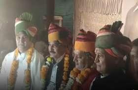 चुनाव से ठीक पहले बीजेपी के इस मुस्लिम नेता ने कांग्रेस का दामन थामा, गहलोत ने किया स्वागत