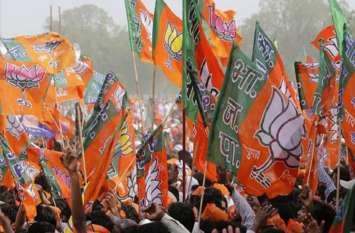 भाजपा में खुशी की लहर,उत्तराखंड निकाय चुनाव में मिल रही बढत